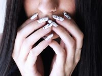 Summer Hit – Marble Nails. How to do that?