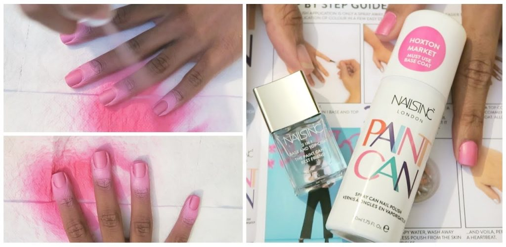 This Product Is Nothing Else But Spray On Nail Polish In Case You Do Not Have To Be Precise Lication Of With Brush The